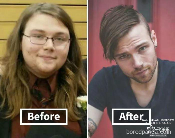 如果减掉30斤以上,面部会发生什么变化呢?一起来瞧瞧吧