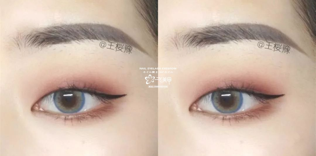 单眼皮和肿眼泡眼妆怎么画?新手化妆必看的眼妆教程!
