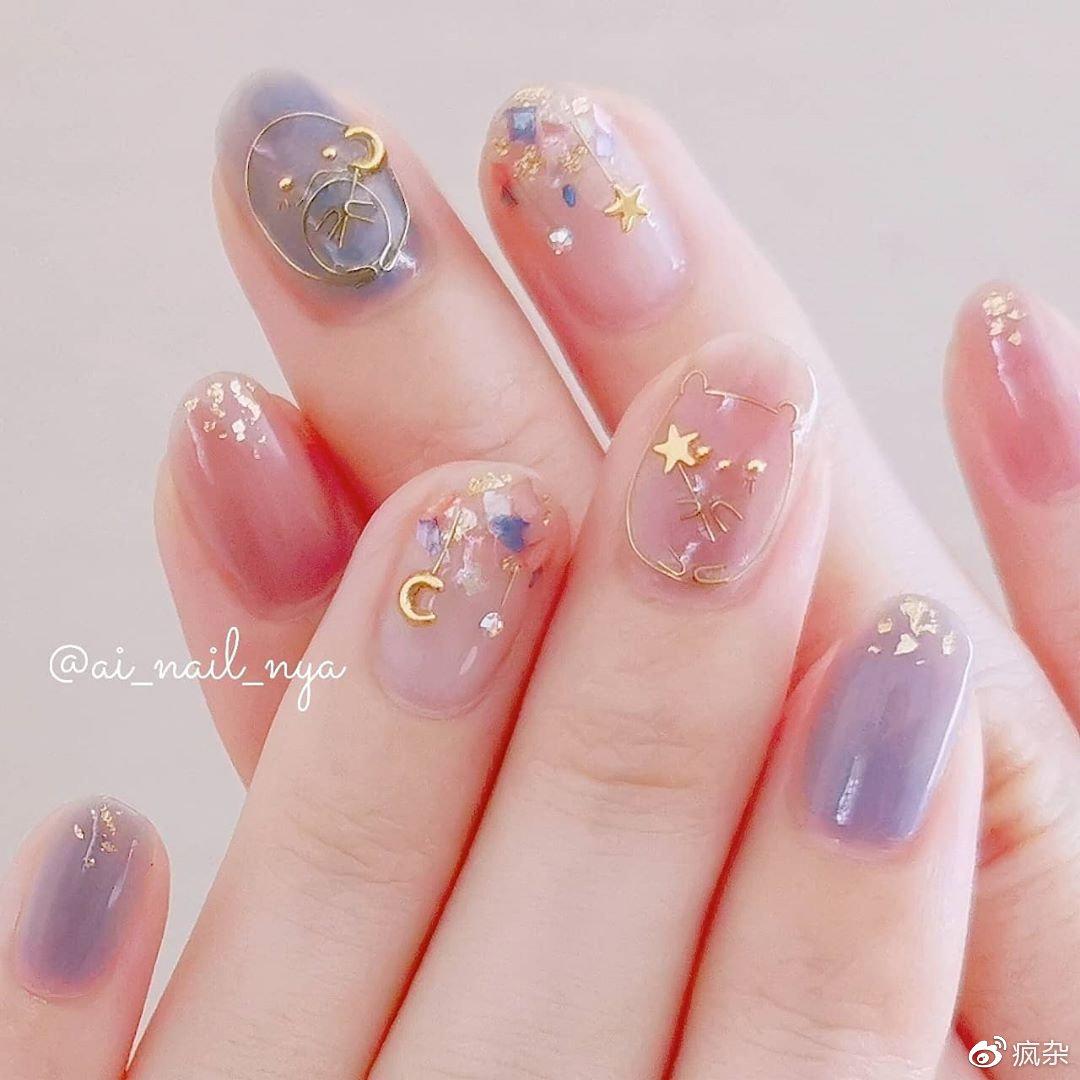 不要设限其他人怎么想~昂首秋季下的「粉蓝夕阳指彩」学会阔达看淡插图(2)