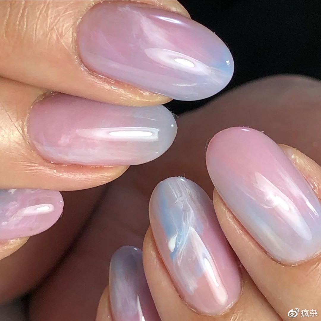 不要设限其他人怎么想~昂首秋季下的「粉蓝夕阳指彩」学会阔达看淡插图(6)